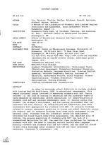 ERIC - ERIC ED415641: A Review of the Literature on Students with Limited English Proficiency and Assessment. State Assessment Series: Minnesota, Report 11.