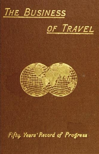 The business of travel by W. Fraser Rae
