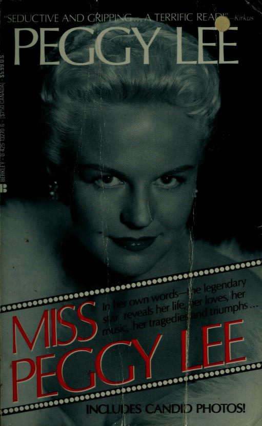 Miss Peggy Lee by Peggy Lee