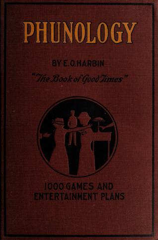 Cover of: Phunology | E. O. Harbin